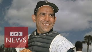 Yogi Berra: The man behind 'It ain't over till it's over' - BBC News