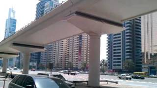 Dubai Metro Station Emirates Towers
