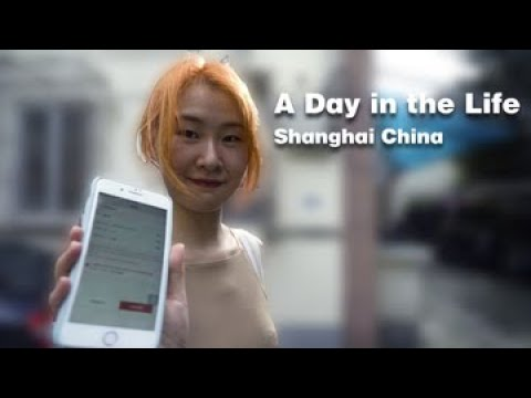 A Day in the Life of a Chinese Young Lady in Shanghai China