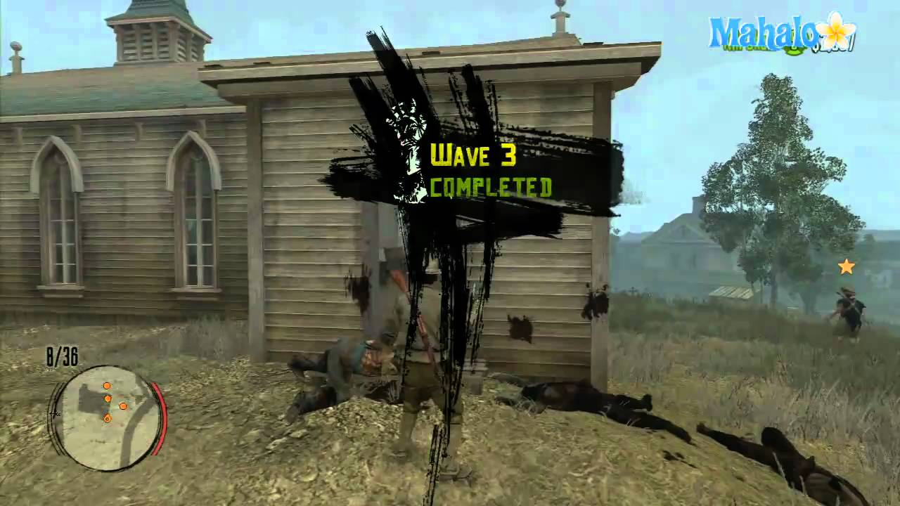 Red Dead Redemption Co-op - Undead Overrun Part 1