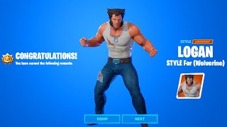 How To Get Logan Style in Fortnite (Wolverine Style)