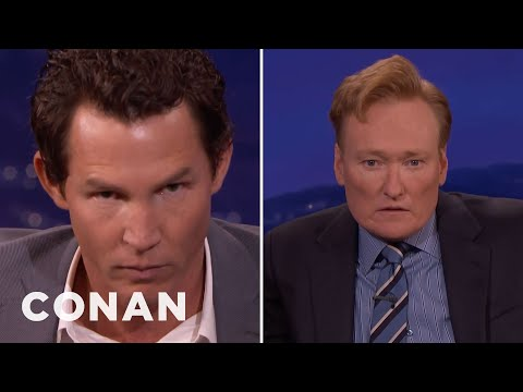 Shawn Hatosy And Conan Compare Intimidating Stares   CONAN on TBS
