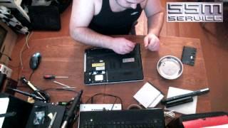 Как разбрать ноутбук Sony PCG 71812V