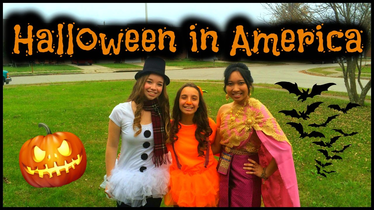 VLOG #3 HALLOWEEN IN THE USA 2015 - YouTube