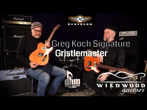 The Reverend Greg Koch Signature Gristlemaster  •  Wildwood Guitars