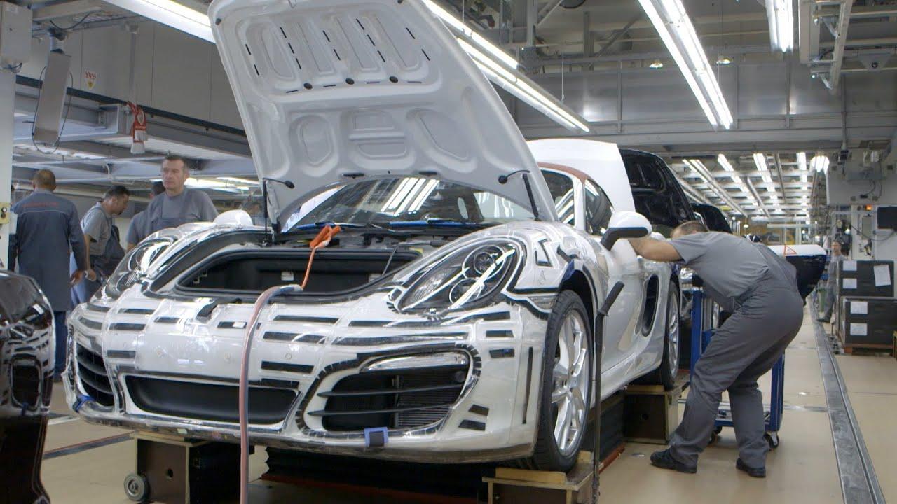 Porsche car made in