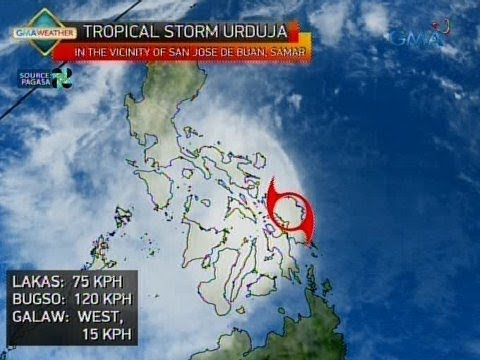 24 Oras: Weather update as of 6:22 p.m. (Dec. 16, 2017)