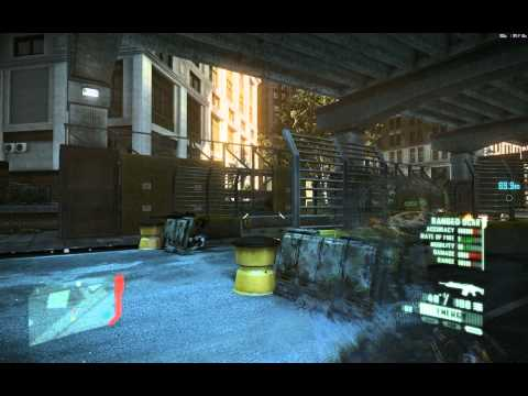 Crysis 2 Walkthrough: Mission 4, Part 3: Road Rage, Tectonic Shift (Let's Play in 1080p HD)