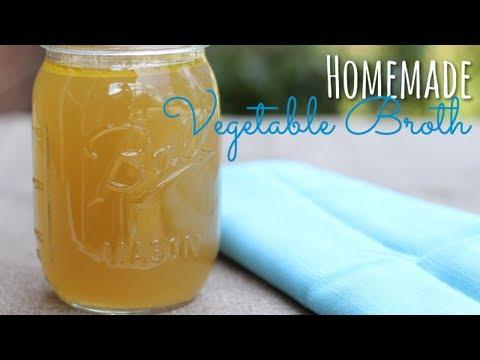 Homemade Vegetable Broth