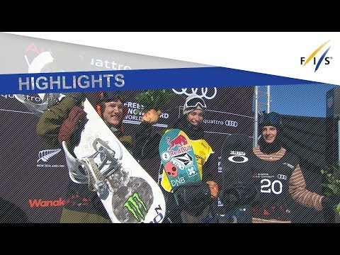 Highlights | Marcus Kleveland tops the field in Cardrona Slopestyle | FIS Snowboard