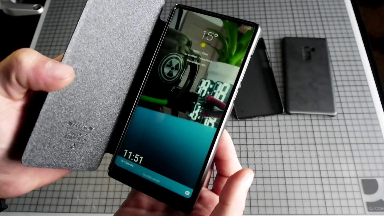 best website 183c8 cdd2f Xiaomi Mi Mix 2 Cases (Nillkin + Original + Others) Review