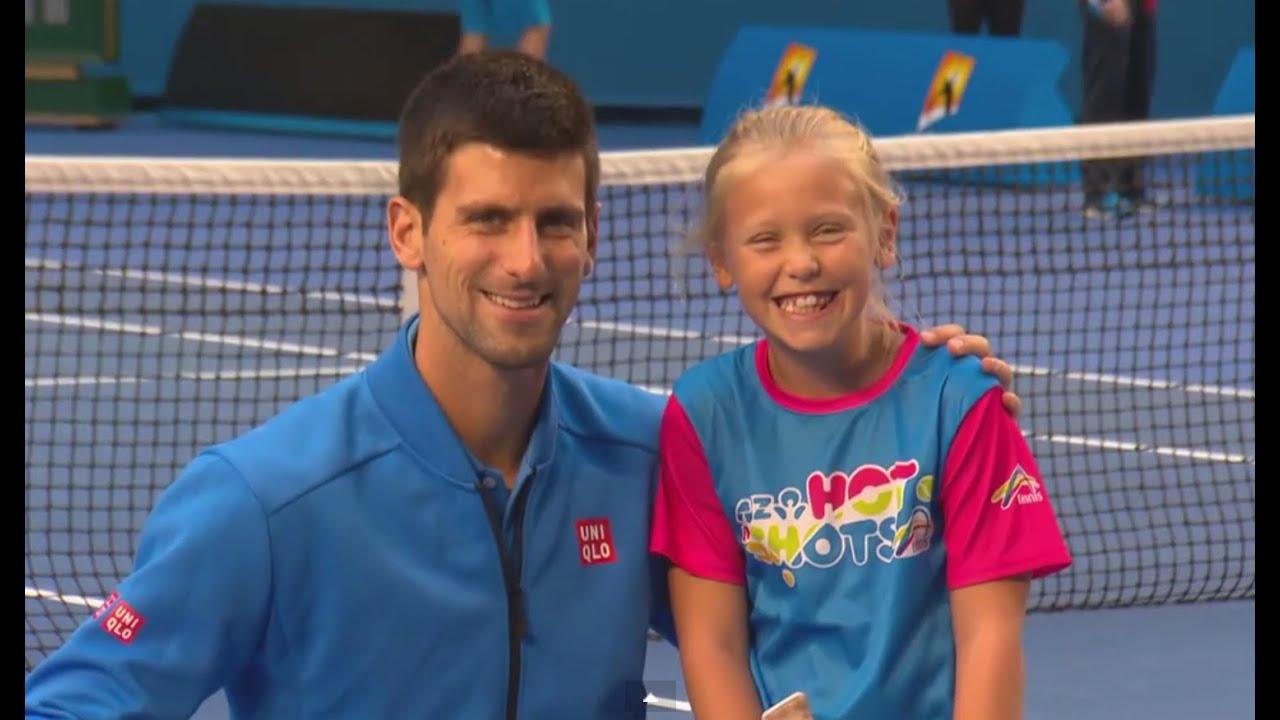 Novak Djokovic surprises ANZ Tennis Hot shot- Australian ...
