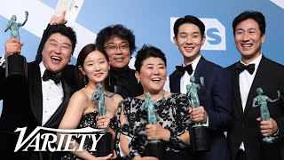 Bong Joon Ho & the 'Parasite' Cast Make History at the SAG Awards