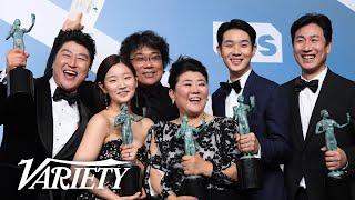 Bong Joon Ho & the 'Parasite' Cast Make History at the SAG Awards
