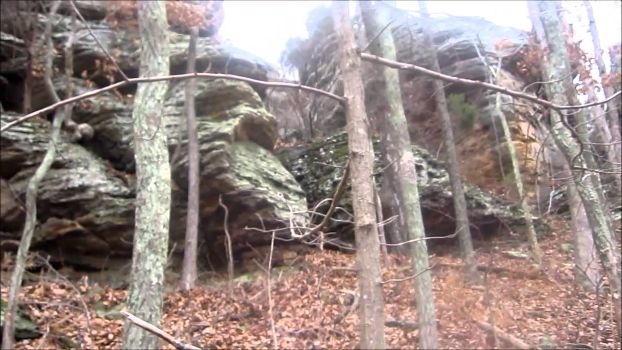Southern Illinois Winter Hang Garden of the Gods Dec 20 21 2013