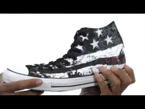 Converse Chuck Taylor® All Star® Hi Destroyed Flag  SKU:#8143634
