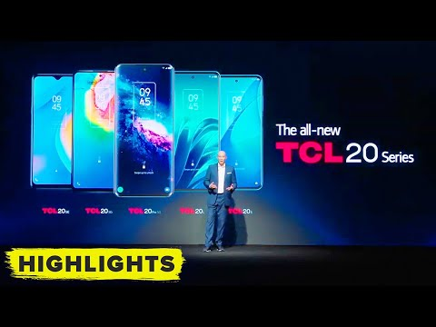 TCL 20 series 5G and SE phones revealed! (CES 2021)