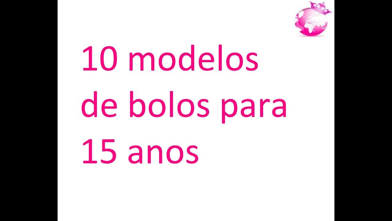 10 Modelos De Bolos Para 15 Anos Mundo Cor De Rosa Youtube
