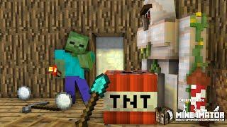 【マイクラアニメ】ゾンビは外に出たい【Minecraft・マインクラフトアニメ】 thumbnail