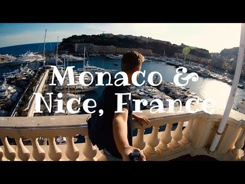 Nice, France and Monaco  - Travel video