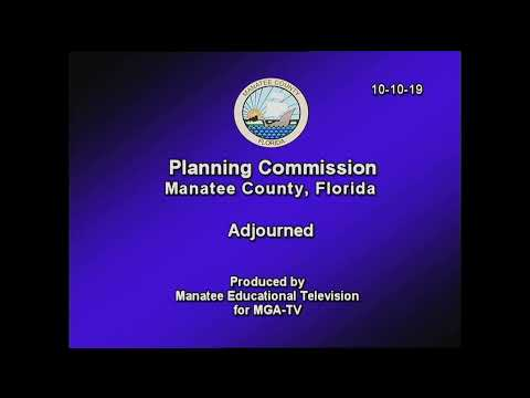 October 10, 2019 – Planning Commission Meeting