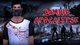 мод: Zombie Apoccalypse (зомби апокалипсис, настоящие зомби в The Sims 4)