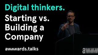 Co-founder of Behance | Matias Corea | Starting vs Building a Company