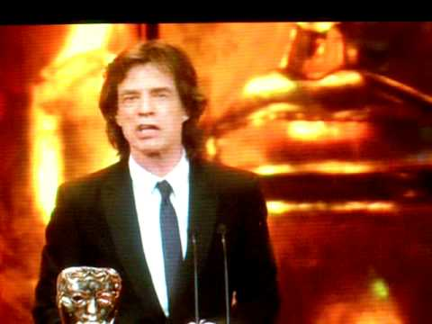 2009 BAFTA Awards- Mick Jagger Presents