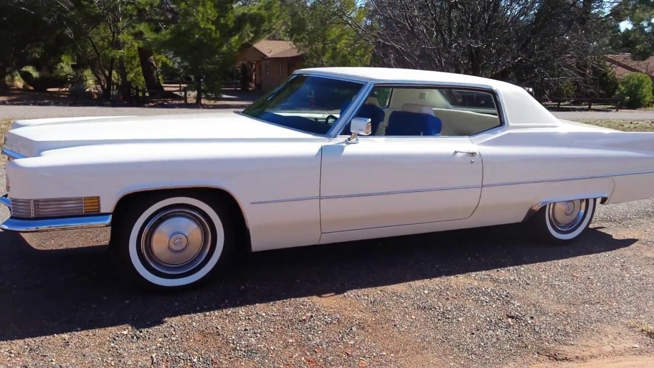 1970 Cadillac Coupe Deville 18k Original Miles Ebay Sedona Az Youtube