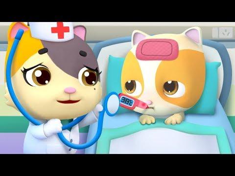 不怕吃藥歌 | 最新聖誕節兒歌童謠 | 卡通 | 動畫 | 寶寶巴士 | BabyBus