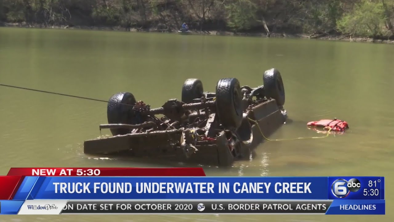 Best Iptv October 2020 Truck found underwater in Caney Creek   YouTube