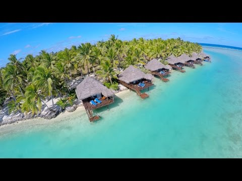 "Aitutaki, Cook Islands – ""The most beautiful lagoon in the world."""