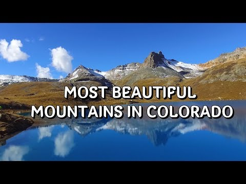 The San Juans, Colorado's most beautiful mountains