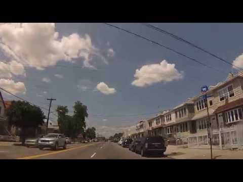 Canarsie, Brooklyn NY - Drive through Breukelen area, Flatlands Ave, Remsen Ave