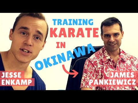 OKINAWA KARATE LIFE: DOJO BAR FOUNDER JAMES PANKIEWICZ