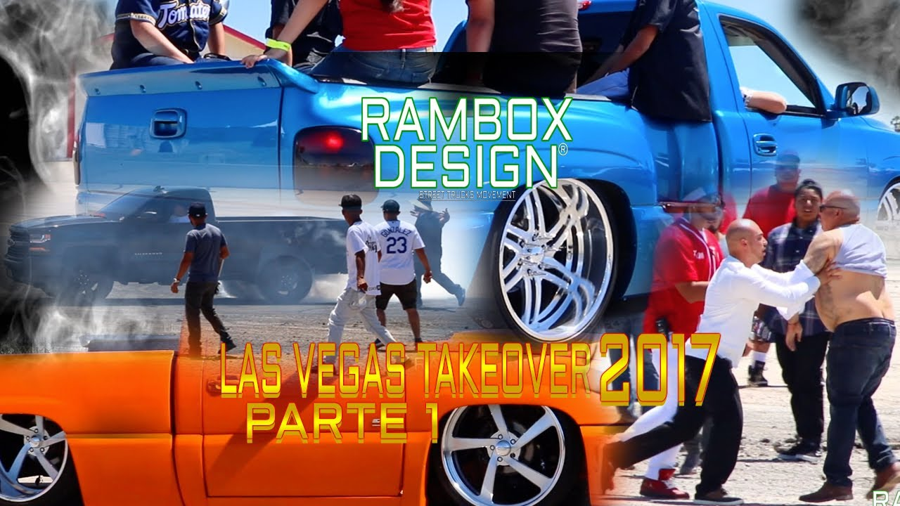 las vegas takeover 2017 parte 1 sale mal ramboxdesign truck show youtube. Black Bedroom Furniture Sets. Home Design Ideas