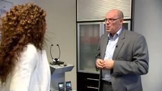 Hoorexpert. TV intervieuw met Per Gisolf