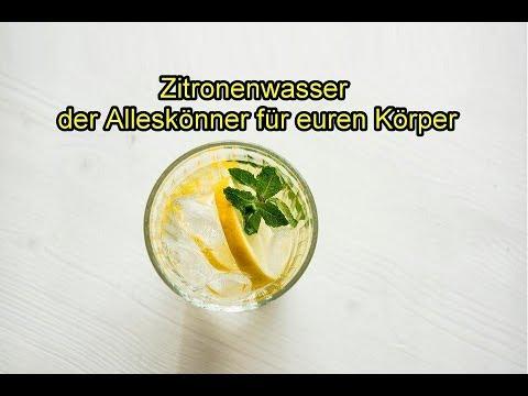Slikovni rezultat za zitronenwasser gesund