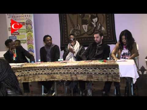 Conférence de presse des X MALEYA à La Maison de l'Afrique Mandingo de Montréal