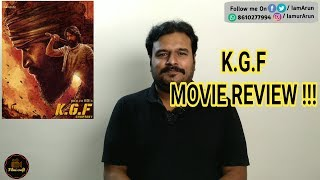 KGF Review in Tamil by Filmi craft | K.G.F: Chapter 1 Movie Review | Yash | Prashanth Neel
