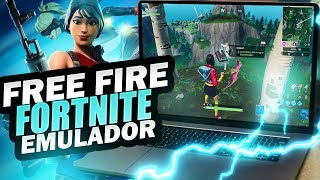 HOW TO PLAY FORTNITE, FREE FIRE EMULATOR FOR PC WEAK 2019 UPDATED NEW METHOD