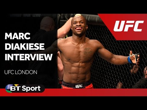 UFC London: Marc Diakiese exclusive post-fight interview