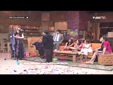"Harp Performance By Angela July At  ""Ini Talkshow"" Net Tv"