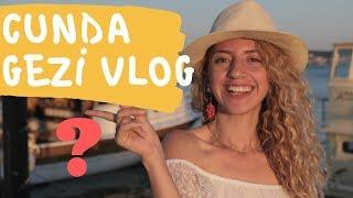 Ayvalık CUNDA ADASINI Kamp Yaparak Gezdim! | Cunda Vlogu