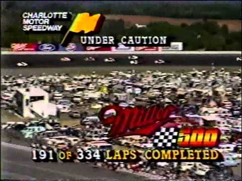 1985 NASCAR Winston Cup Miller High Life 500 @ Charlotte Motor Speedway (Full Race)