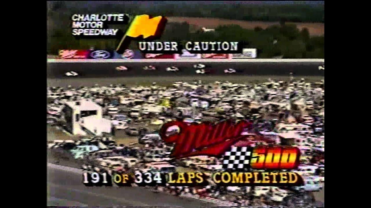 1985 Nascar Winston Cup Miller High Life 500 Charlotte