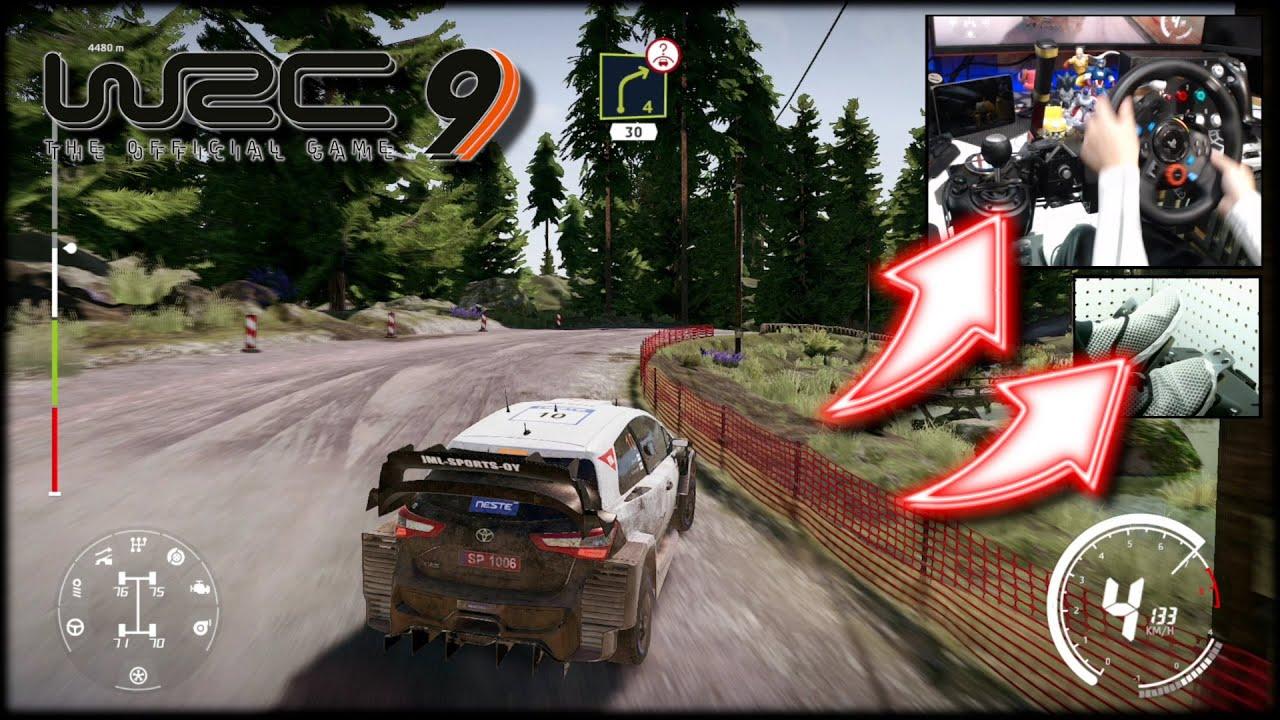 Download WRC 9 Toyota Yaris WRC Rally Finland / Logitech G29