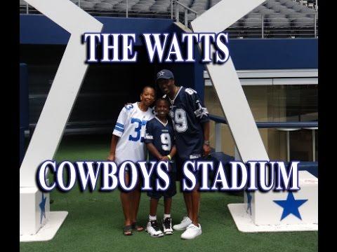The Watts Dallas Cowboys Stadium Tour