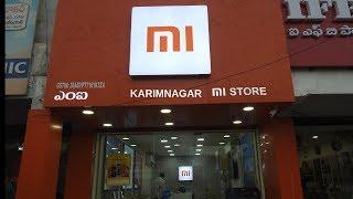 MI Store Karimnagar Tour  2019