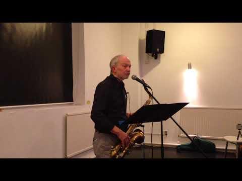 Seren Poets Reading: Robert Walton performs 'Sax Burglar Blues'